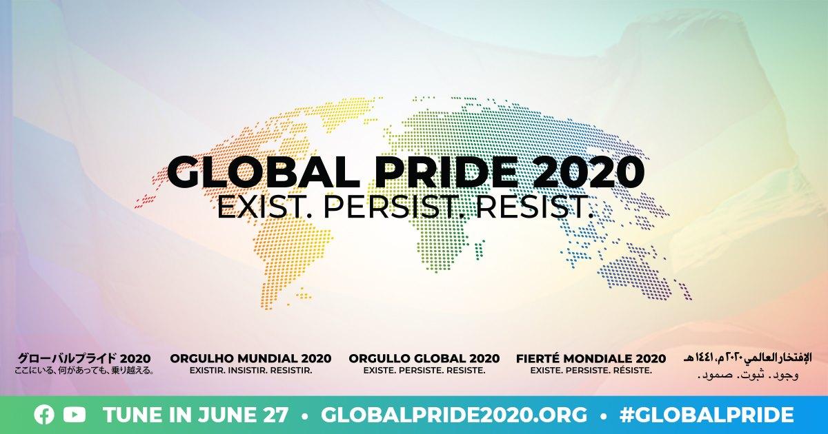 Global Pride 2020 Online.