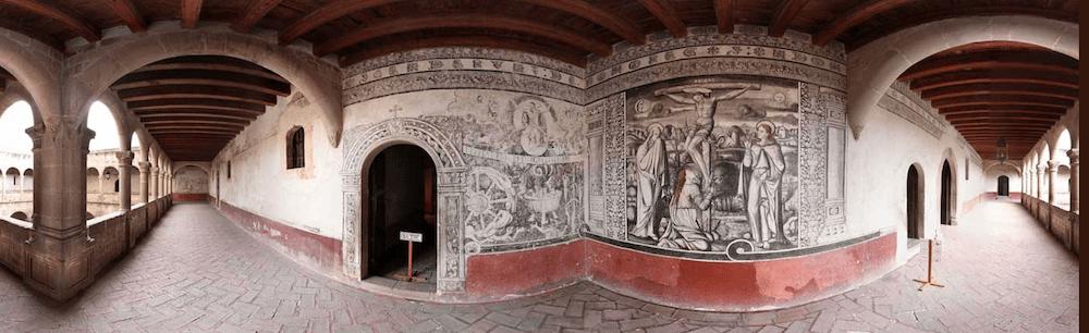 Conoce el templo de San Agustín en Acolman.