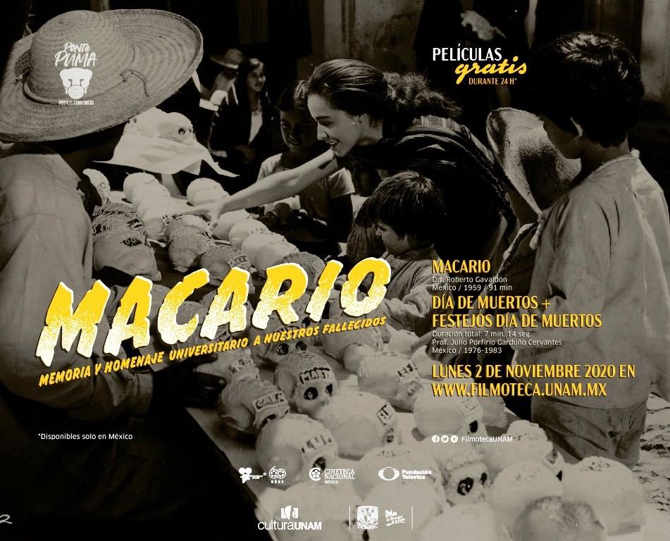 El homenaje de Macario a nuestros muertos.