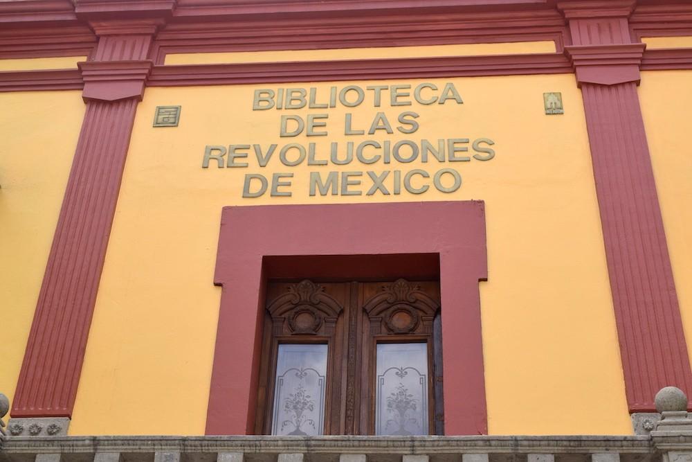 """""""Súmate a las fuerzas de Pancho Villa"""", desde la Biblioteca de las Revoluciones."""