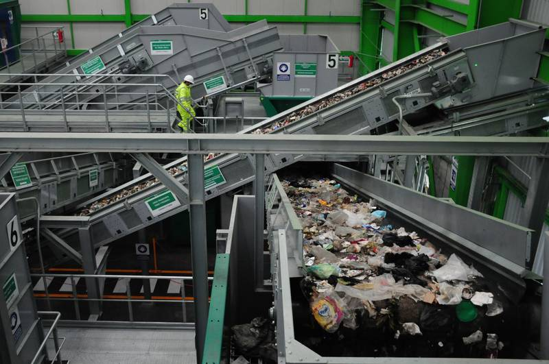¿Cómo funciona la planta recicladora de Azcapotzalco?, la más grande de AL